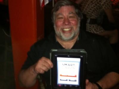 Steve Wozniak with my app